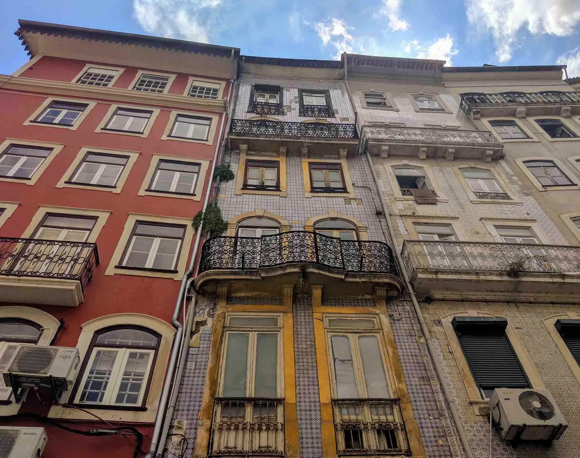 colourful apartments portugal