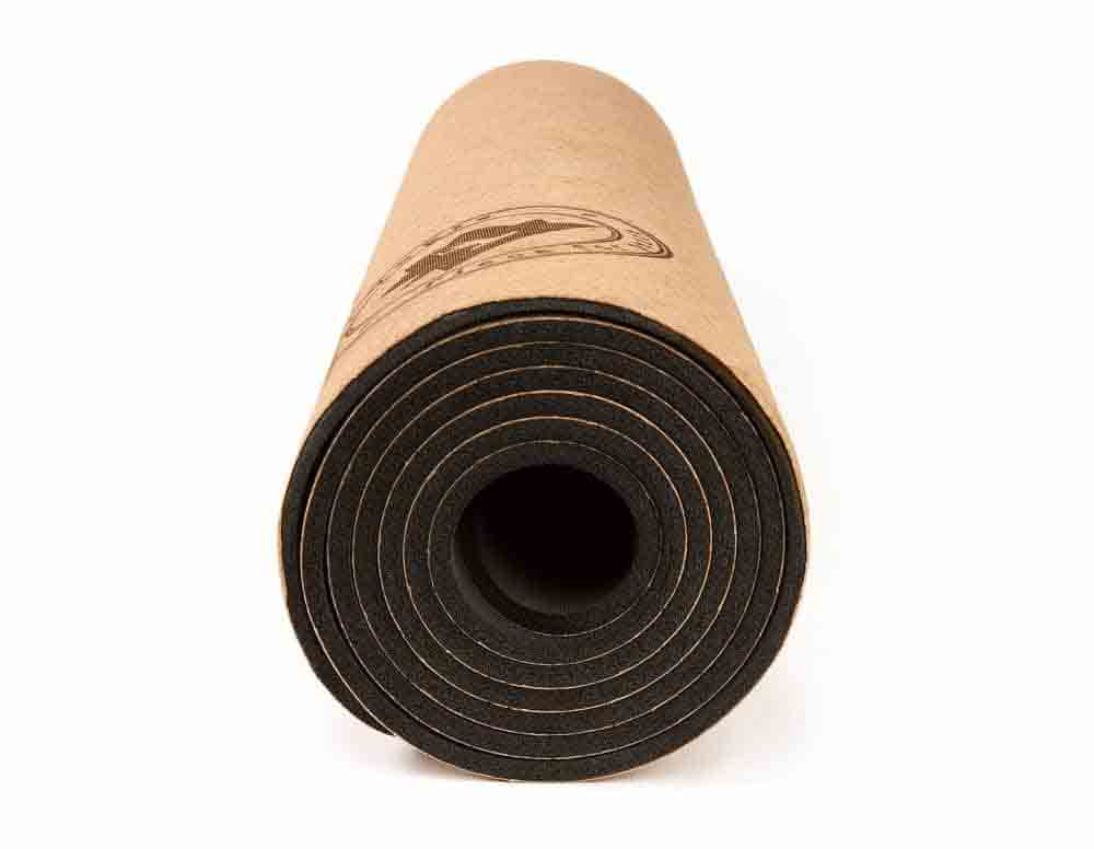 Yoga mat from corkyogis