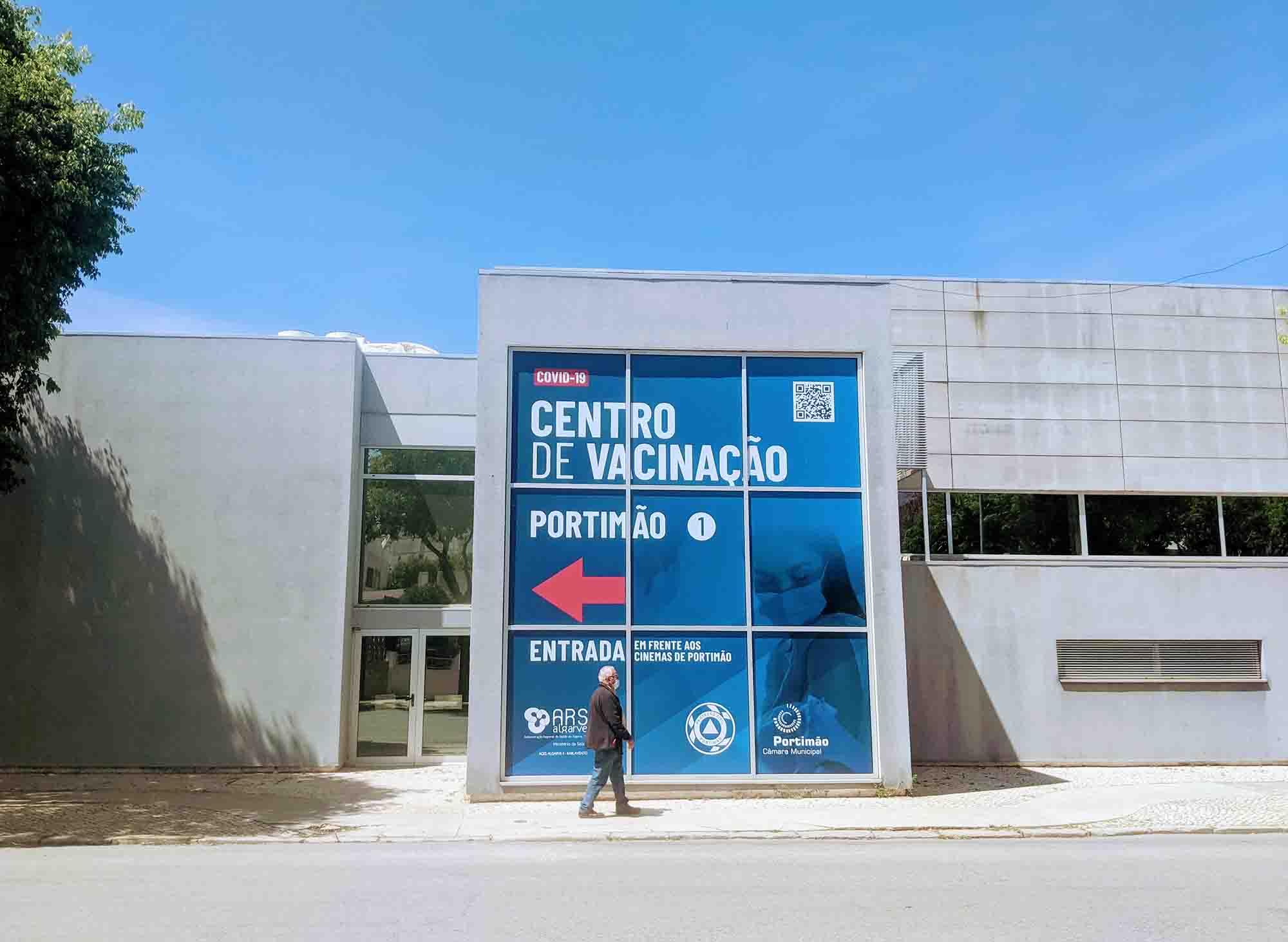 portimao covid vaccination centre