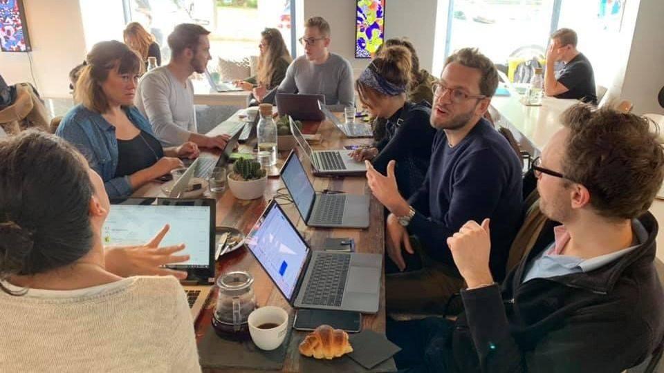 coworking copenhagen cafe