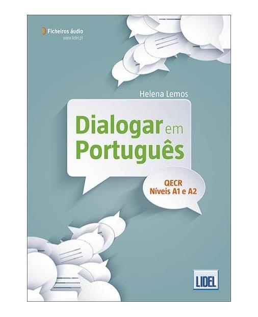 dialogar em portugues textbook cover