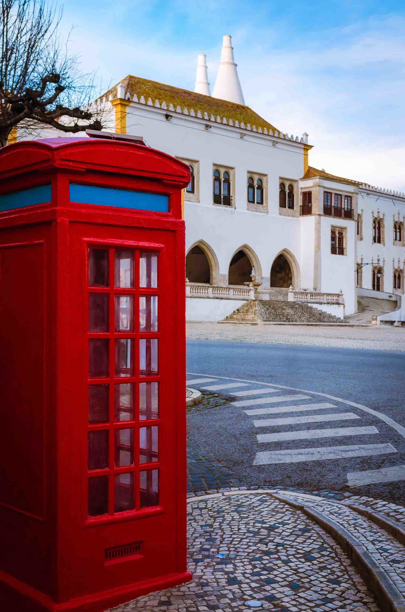A phonebox in Sintra