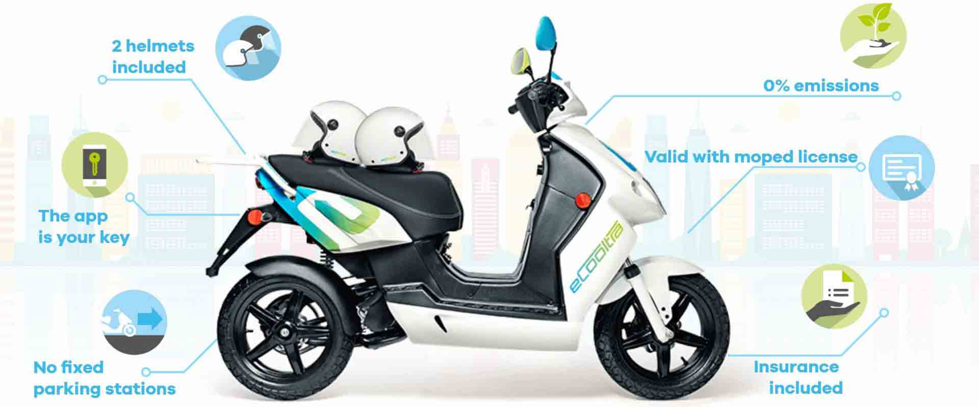 Ecooltra: Scooter Sharing in Lisbon (+ a Promotion Code