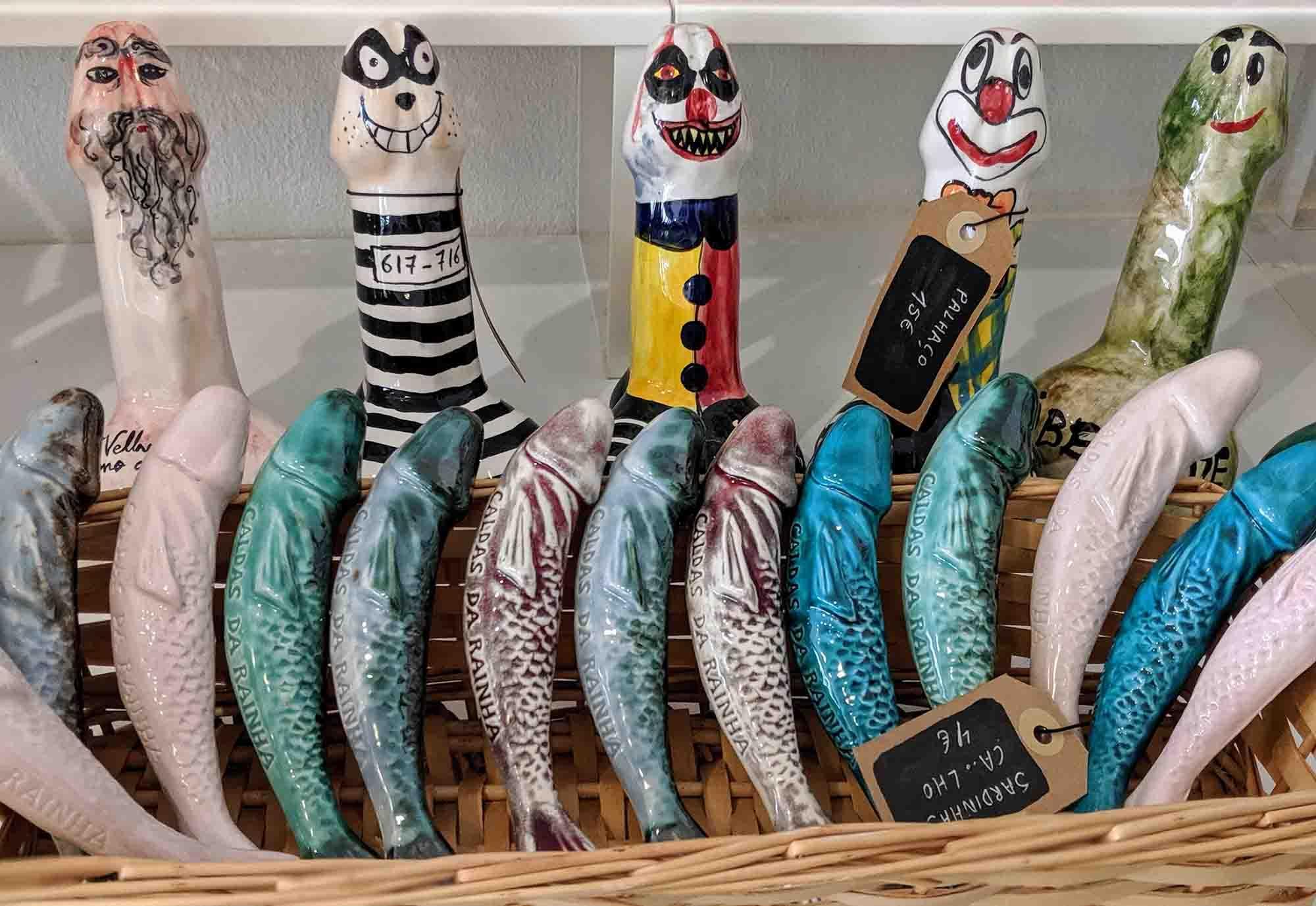 fish shaped pottery members