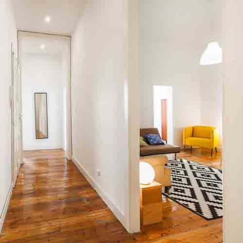 hallway at outsite