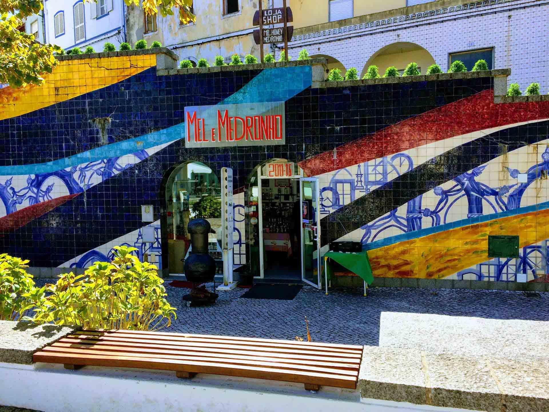 Medronha loja in Monchique