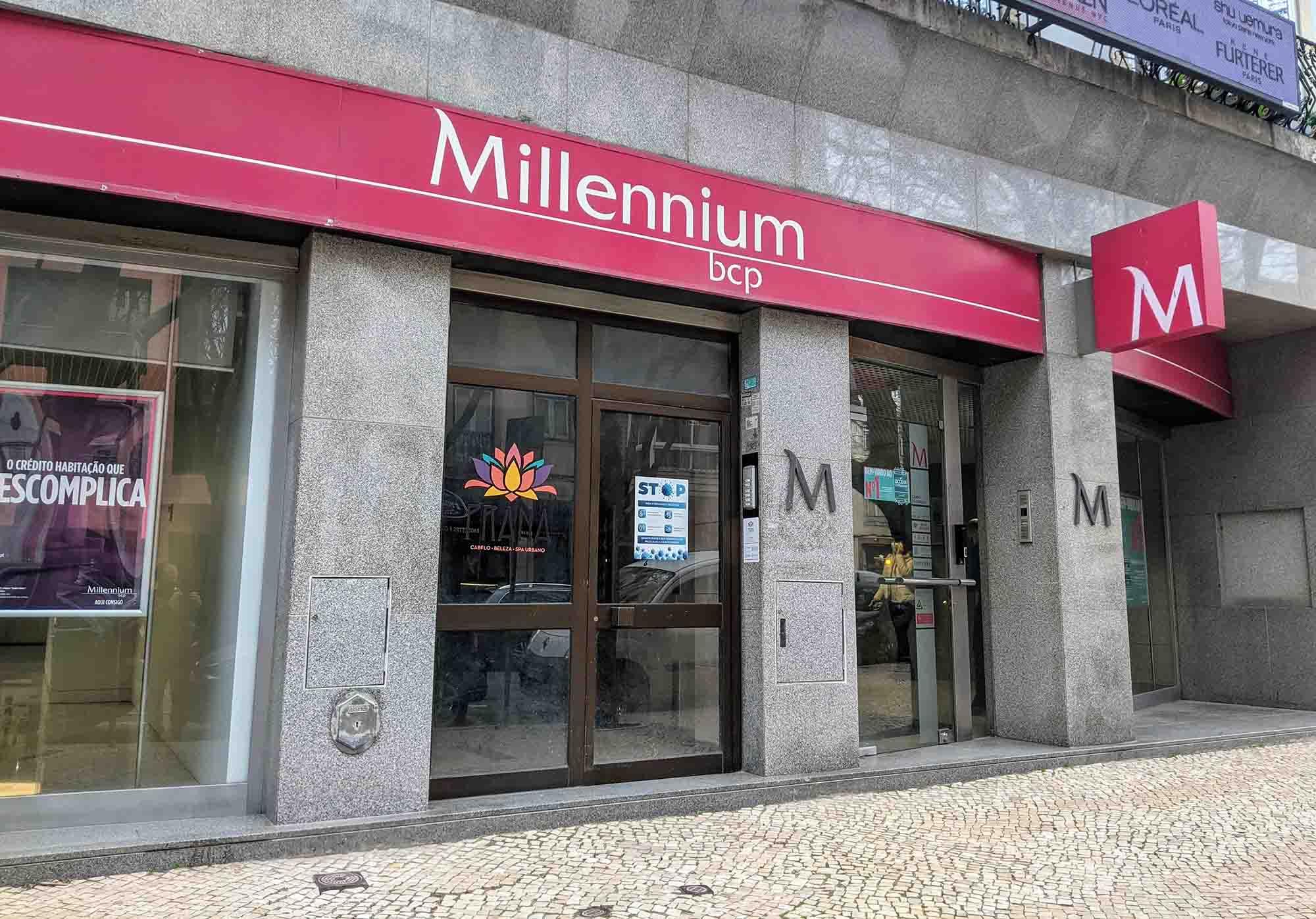 millenium bank portugal in Campo de Ourique