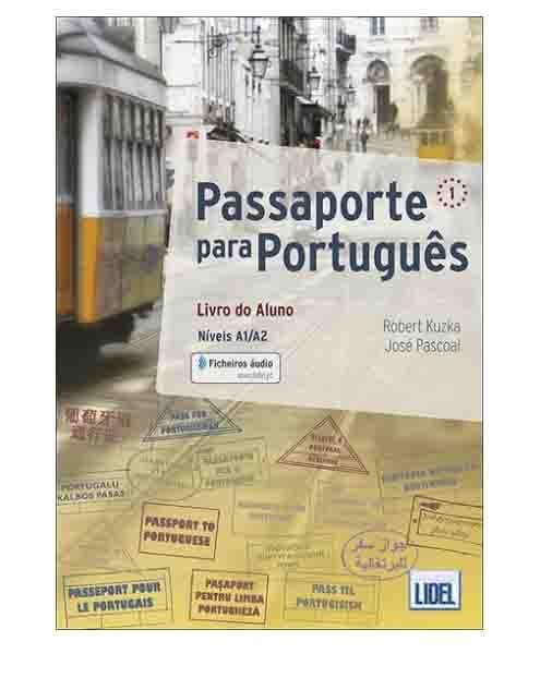 passaporte para portugues textbook cover