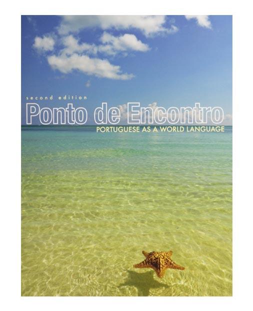 ponto de encontro textbook cover