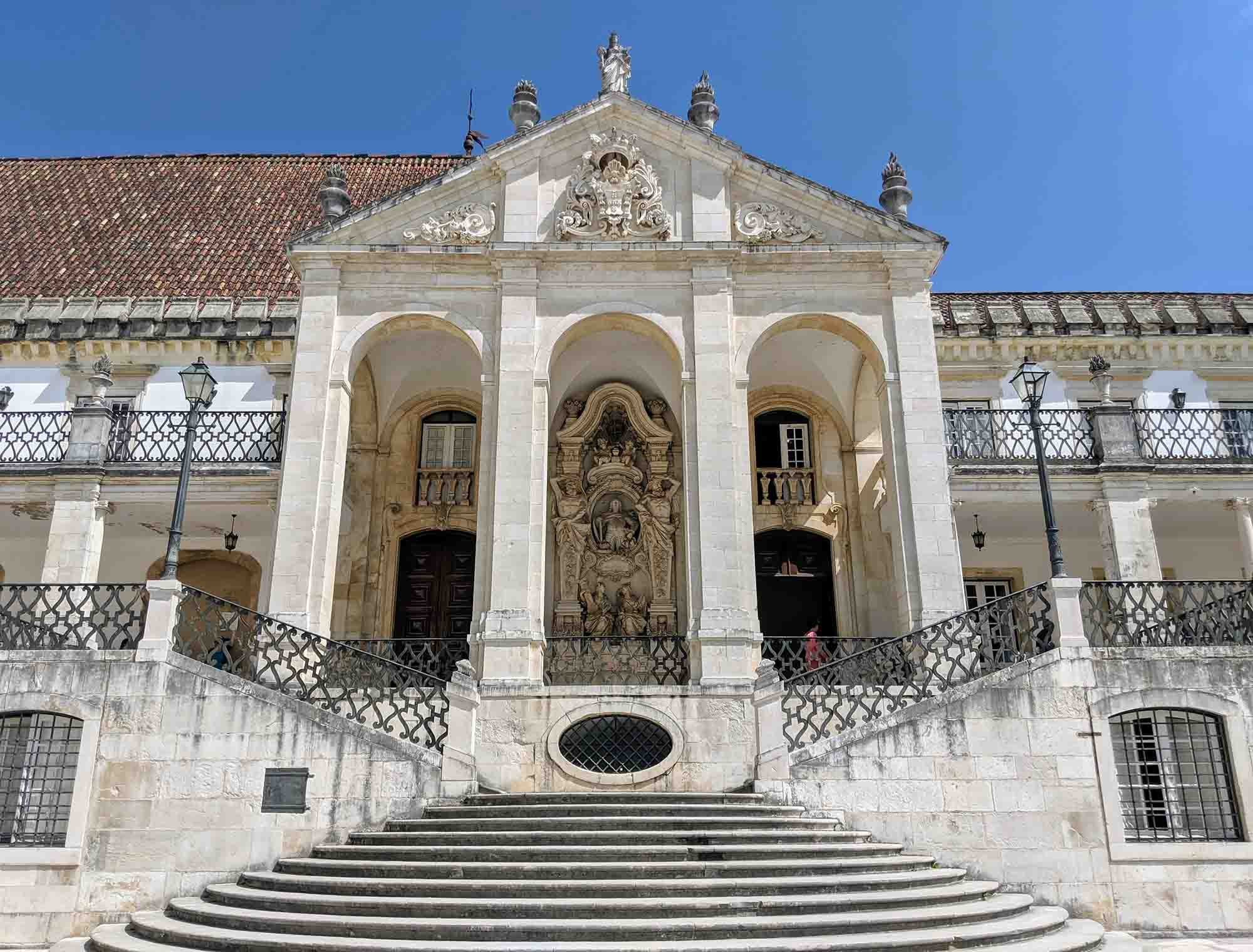 steps at via latina