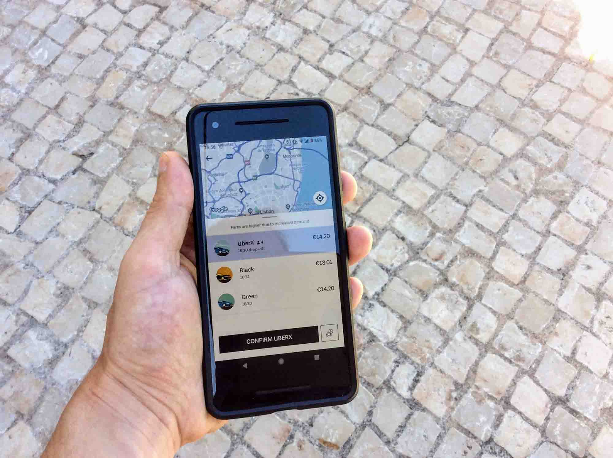 Using Uber in Portugal – Portugalist