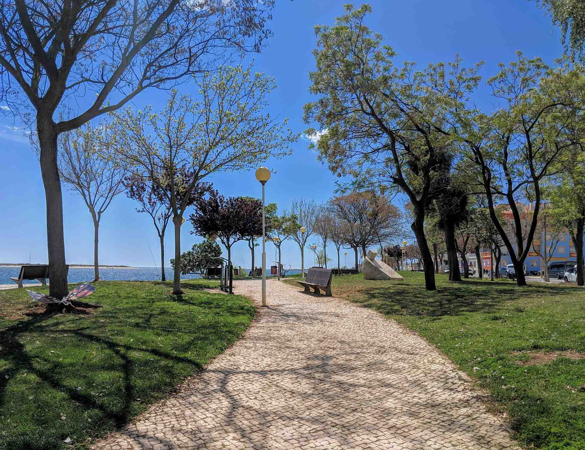 vila real de santo antonio park promenade