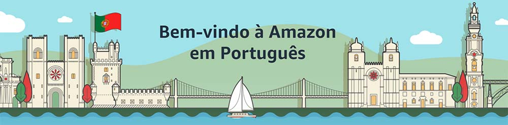 welcome to Amazon in Portuguese